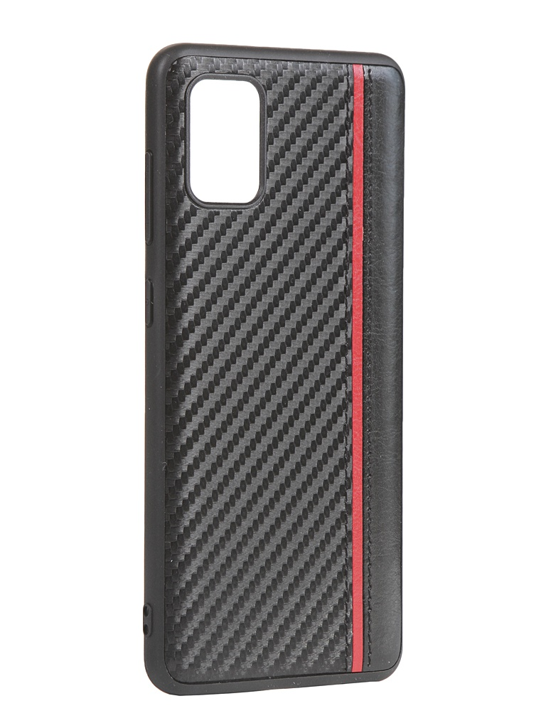 Чехол G-Case для Samsung Galaxy A31 Carbon Black GG-1237