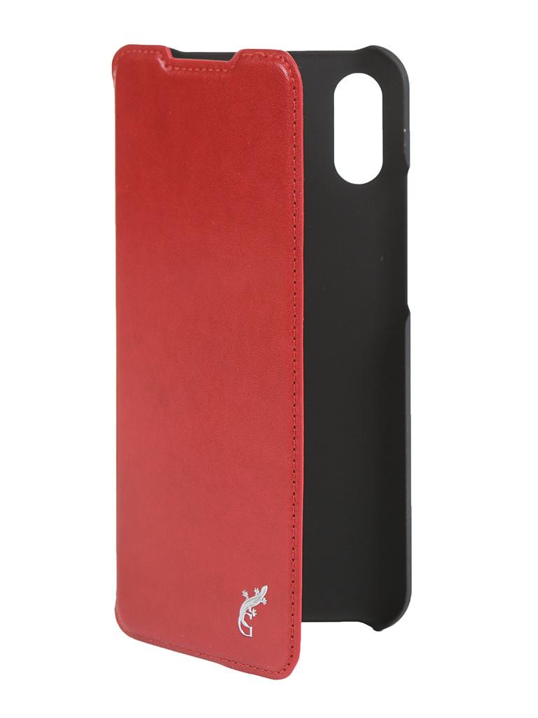 Чехол G-Case для Xiaomi Redmi 9A Slim Premium Red GG-1268