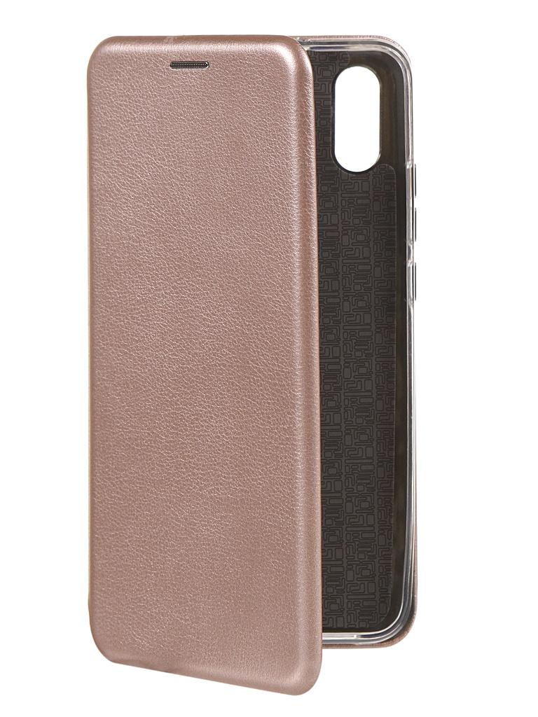 Чехол Innovation для Xiaomi Redmi 9A Gold Pink 17953