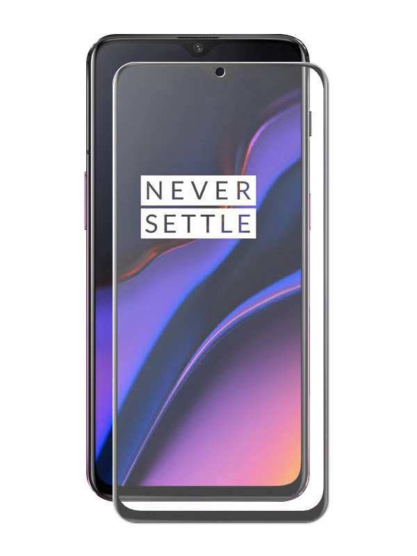 Защитное стекло Innovation для OnePlus 6T 2D Full Glue Black 17944