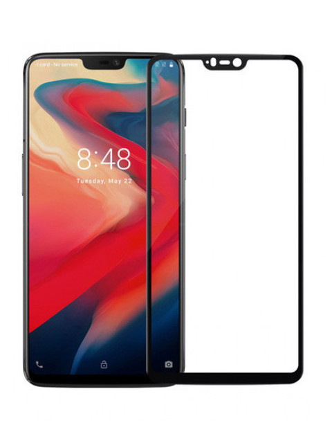 Защитное стекло Innovation для OnePlus 6 2D Full Glue Black 17943