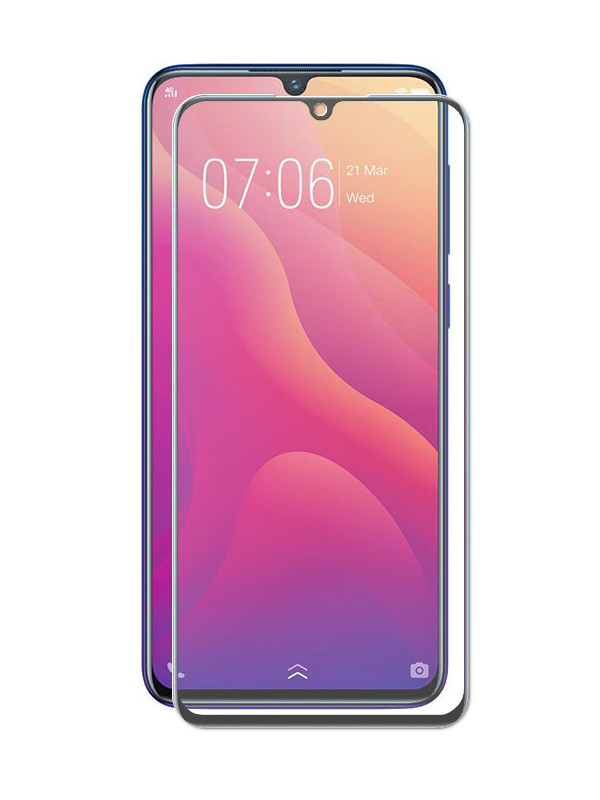 Защитное стекло Innovation для Vivo Y97 / V11i 2D Full Glue Black