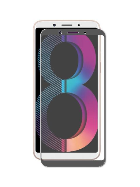 Защитное стекло Innovation для Oppo A83 2D Full Glue Black