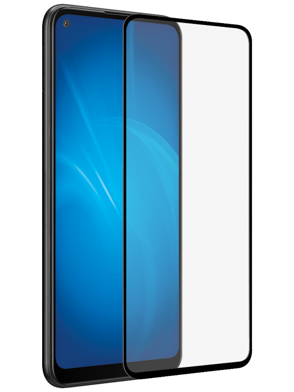 Защитное стекло Innovation для Samsung M11 2D Full Glue Black 17930