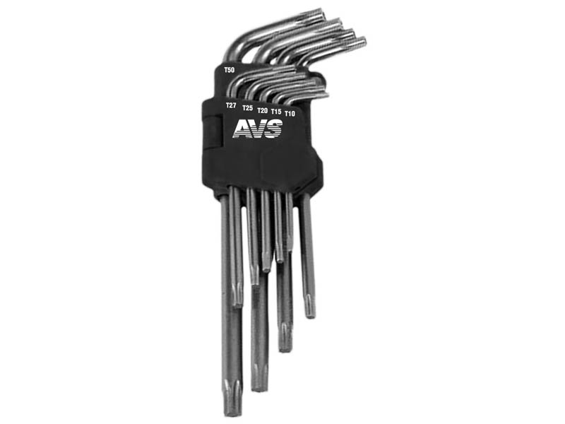 Набор ключей AVS Torx TXL-9 A40158S