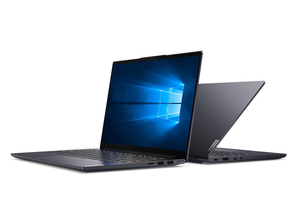 Ноутбук Lenovo Yoga Slim 7 14ARE05 82A2006PRU (AMD Ryzen 5 4500U 2.3GHz/16384Mb/256Gb SSD/No ODD/AMD Radeon Graphics/Wi-Fi/14/1920x1080/Windows 10 64-bit)