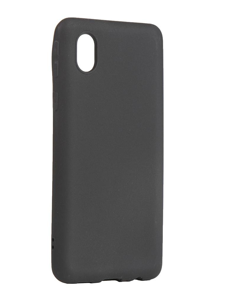 Чехол Zibelino для Samsung Galaxy A01 Core A013/M01 M013 Soft Matte Black ZSM-SAM-A013-BLK