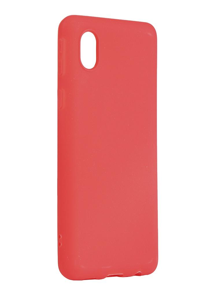 Чехол Zibelino для Samsung Galaxy A01 Core A013/M01 M013 Soft Matte Red ZSM-SAM-A013-RED