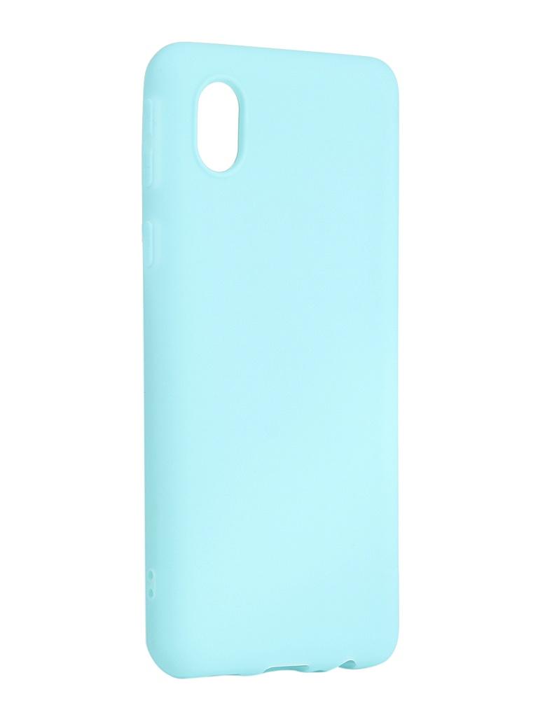 Чехол Zibelino для Samsung Galaxy A01 Core A013/M01 M013 Soft Matte Turquoise ZSM-SAM-A013-TQS