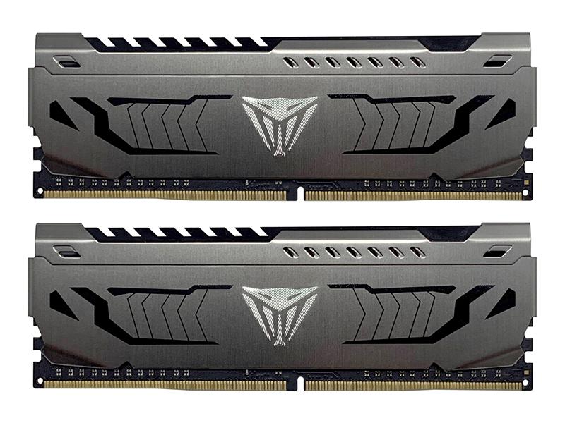 Модуль памяти Patriot Memory DDR4 DIMM 3600MHz PC4-28800 CL18 - 16Gb KIT (2x8Gb) PVS416G360C8K