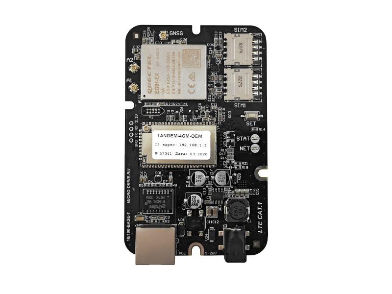 Роутер Microdrive Tandem-4GM-OEM-1