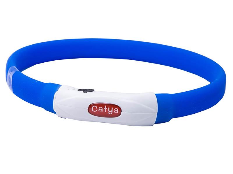 Ошейник ZDK PetU015s LED 40cm Blue