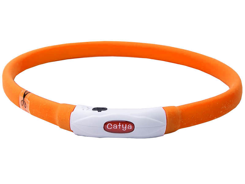 Ошейник ZDK PetU015m LED 55cm Orange
