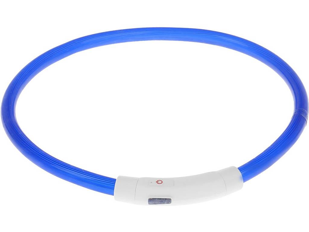 Ошейник ZDK PetU019 LED 40cm Blue