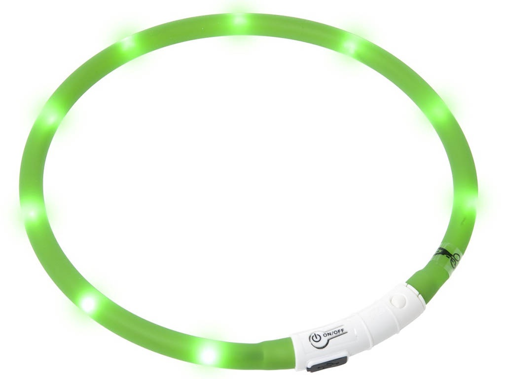Ошейник ZDK PetU019 LED 40cm Green