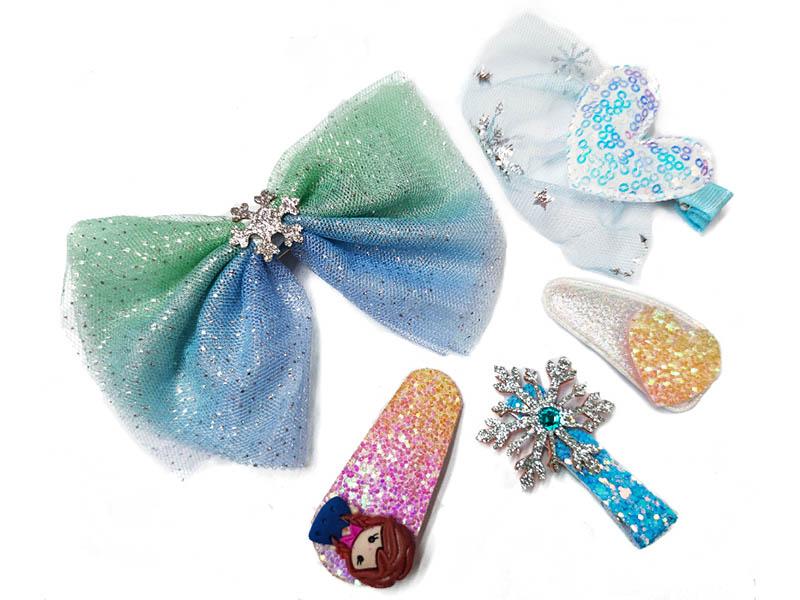 Комплект резинок для волос ZDK Snow Blue yc0004