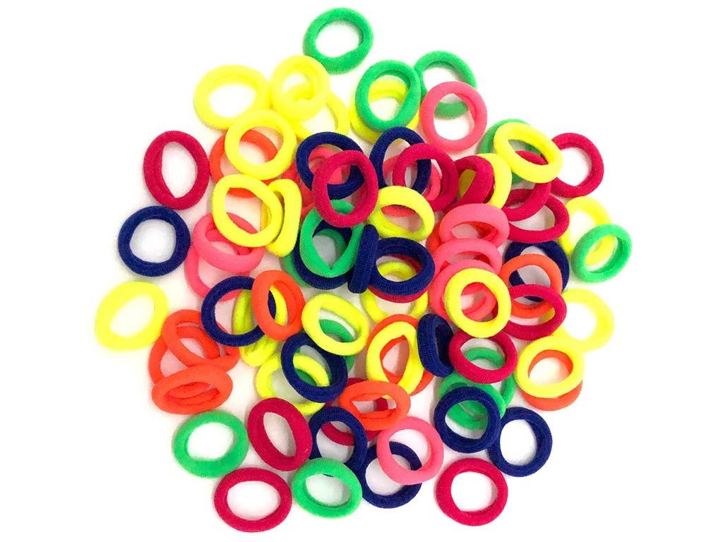 Комплект резинок для волос ZDK Macarons Multicolor yc0001