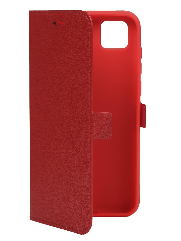 Чехол Krutoff для Honor 9S / Huawei Y5p Red 10477
