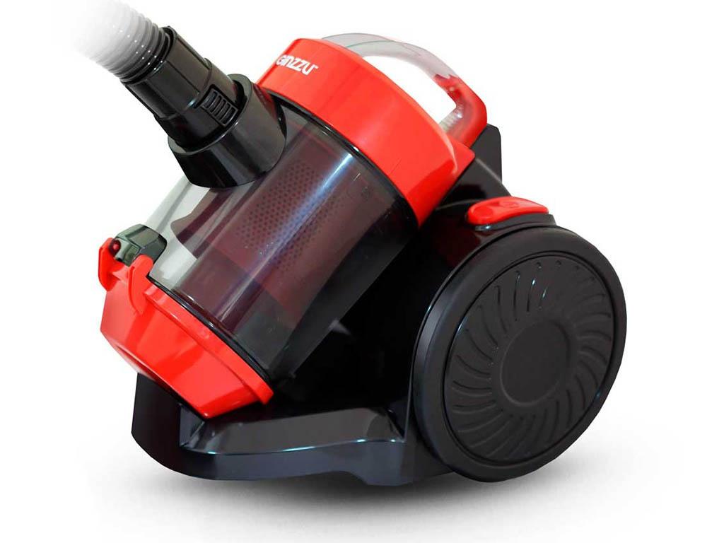 Фото - Пылесос Ginzzu VS427 Black-Red пылесос ginzzu vs427 1500вт синий черный