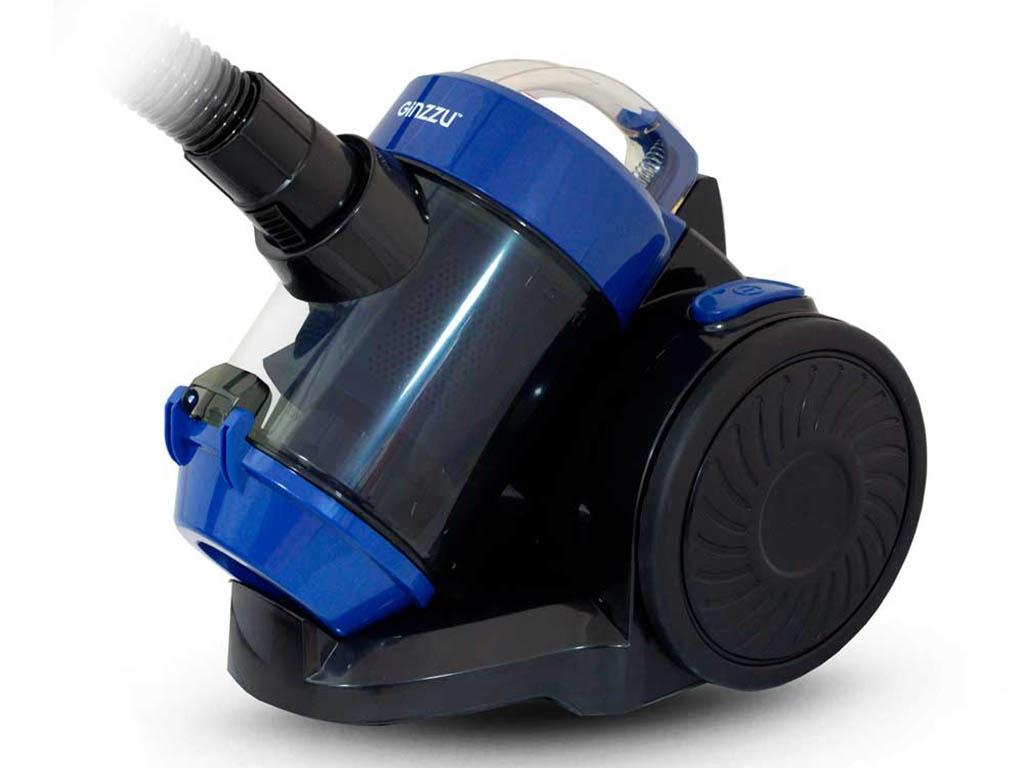 Фото - Пылесос Ginzzu VS427 Black-Blue пылесос ginzzu vs427 1500вт синий черный