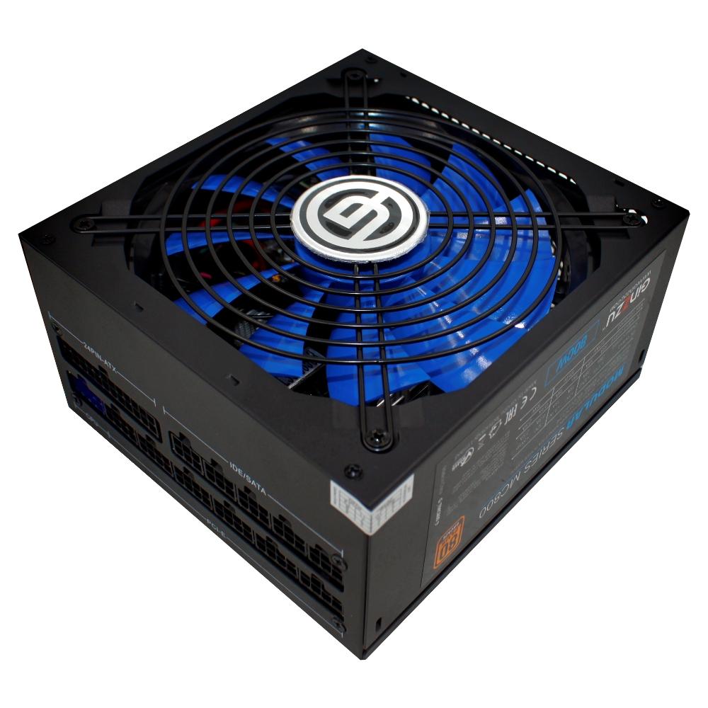 Блок питания Ginzzu MC800 80+ Bronze 800W