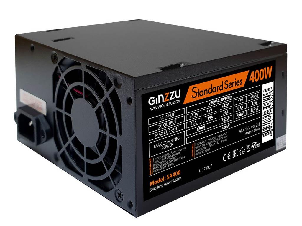 Блок питания Ginzzu SA400 400W