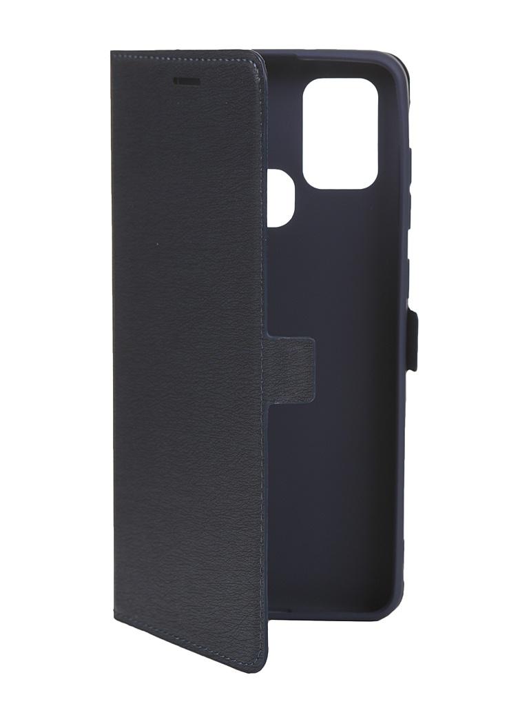Чехол Krutoff для Samsung Galaxy A21S (A217) Blue 10481