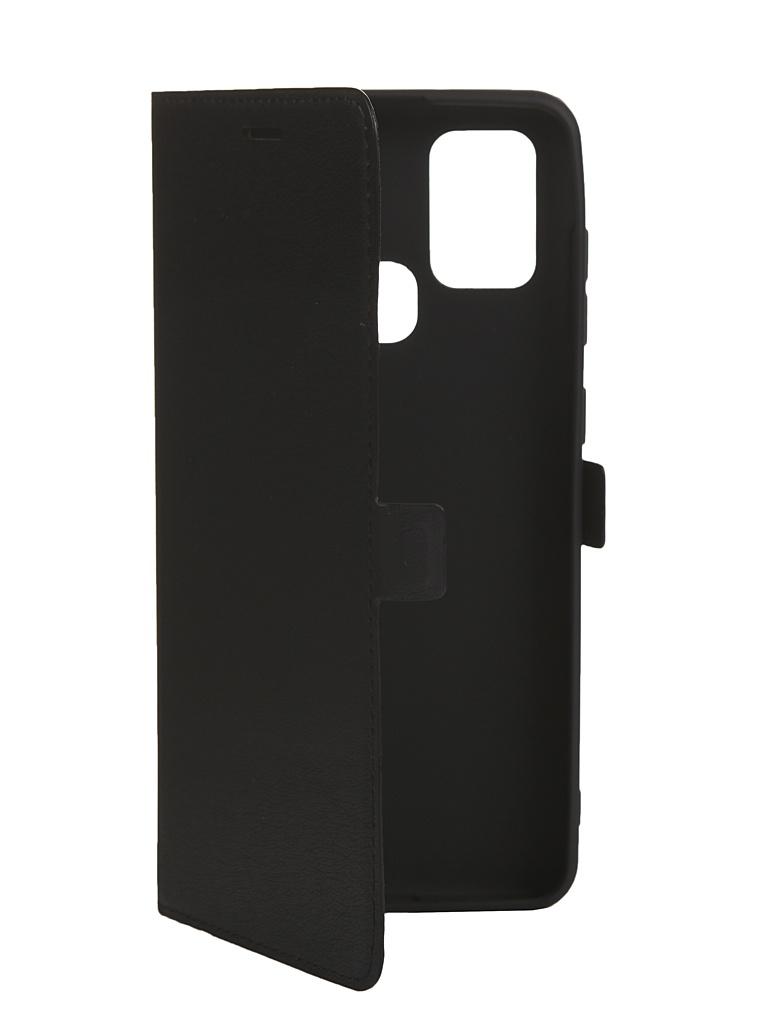 Чехол Krutoff для Samsung Galaxy A21S (A217) Black 10482