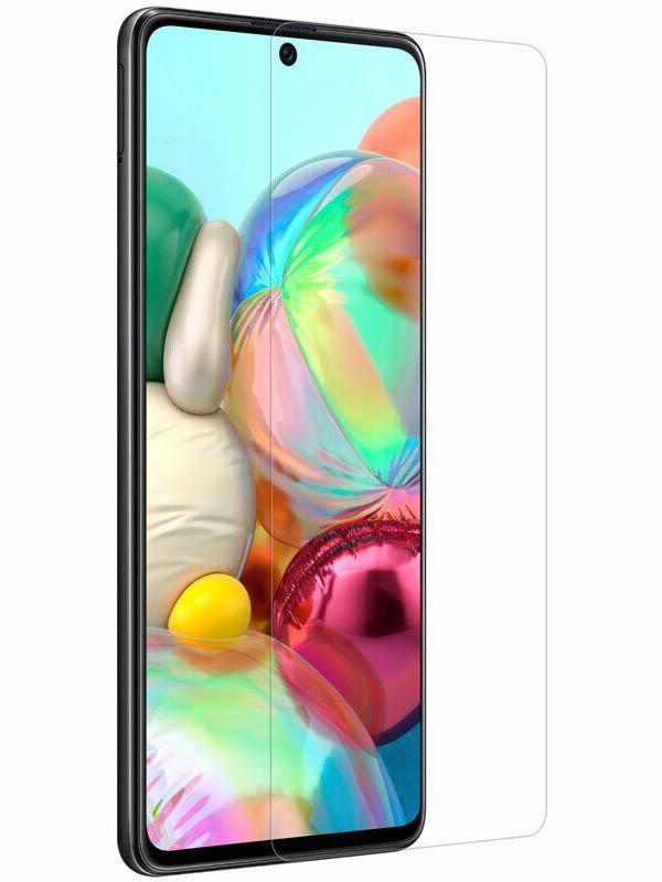 Гибридное защитное стекло Krutoff для Samsung Galaxy A71 22116