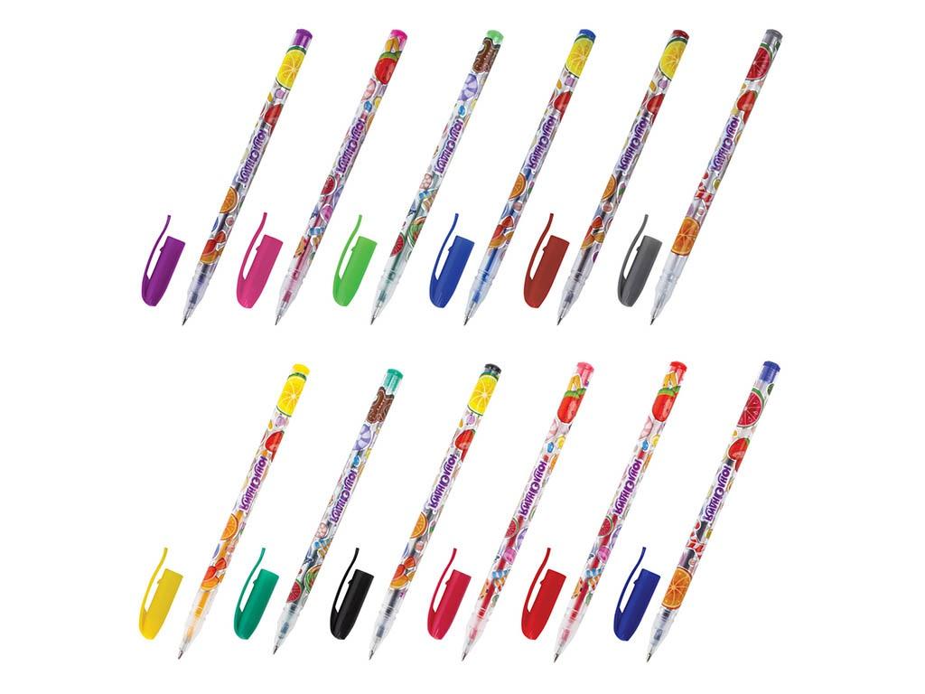 Ручки гелевые Юнландия 12 цветов 142800