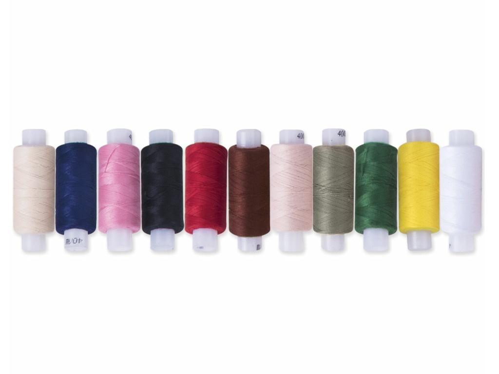 Набор швейных ниток Остров Сокровищ 11 цветов 662789