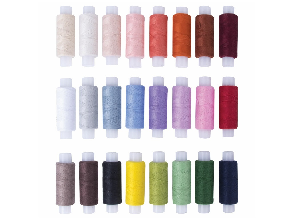 Набор швейных ниток Остров Сокровищ 24 цвета 662788