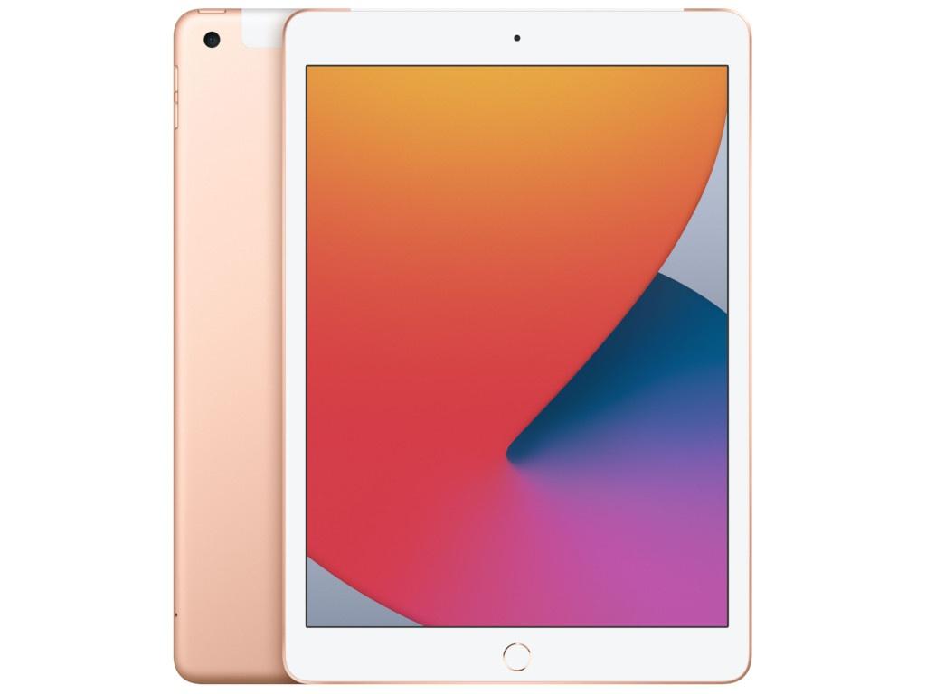 Планшет APPLE iPad 10.2 2020 Wi-Fi + Cellular 32Gb Gold MYMK2RU/A планшет apple ipad 10 2 2020 wi fi cellular 32gb space grey mymh2ru a