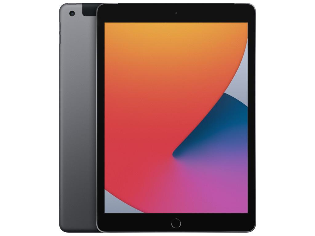 Планшет APPLE iPad 10.2 2020 Wi-Fi + Cellular 128Gb Space Grey MYML2RU/A планшет apple ipad 10 2 2020 wi fi cellular 32gb space grey mymh2ru a