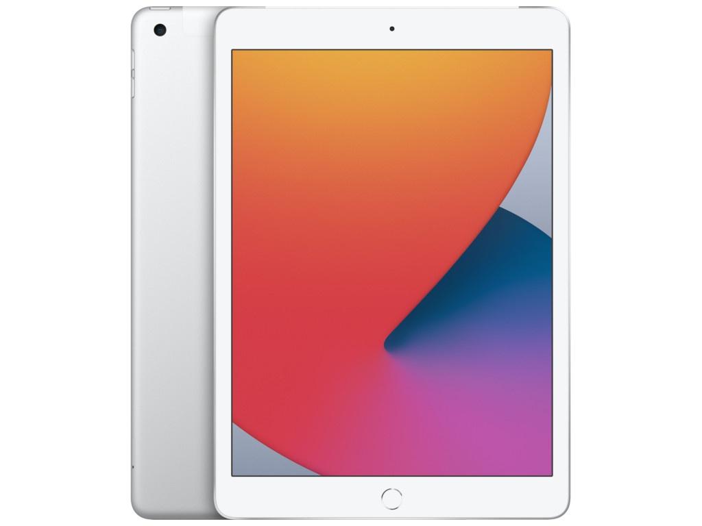 Планшет APPLE iPad 10.2 2020 Wi-Fi + Cellular 128Gb Silver MYMM2RU/A