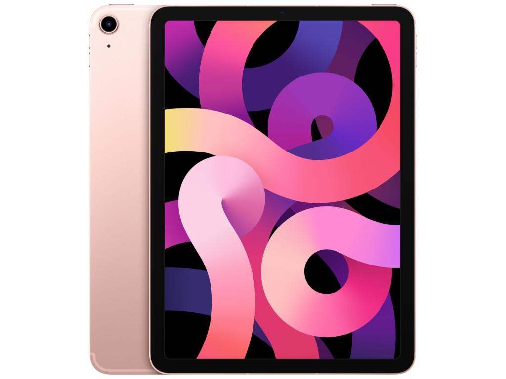 Планшет APPLE iPad Air 10.9 2020 Wi-Fi + Cellular 64Gb Rose Gold MYGY2RU/A планшет apple ipad air 10 9 2020 wi fi 64gb rose gold myfp2ru a