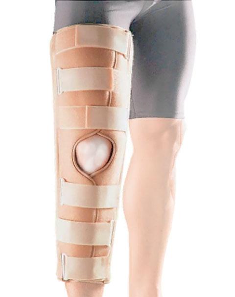 Ортопедическое изделие Бандаж на коленный сустав Oppo Medical 45cm размер S 4030-18S