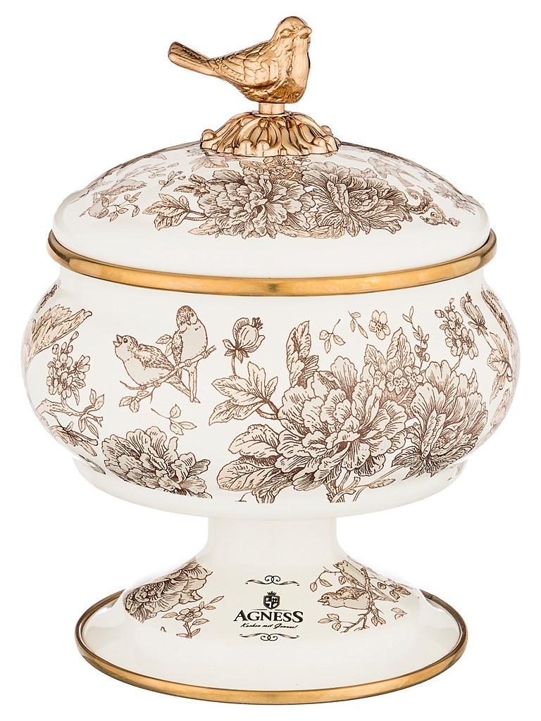 Сахарница Agness Royal Garden 850ml 950-094