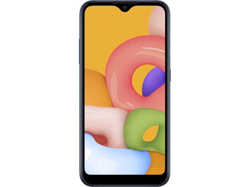 Сотовый телефон Samsung SM-M015F Galaxy M01 3Gb/32Gb Blue Выгодный набор + серт. 200Р!!!