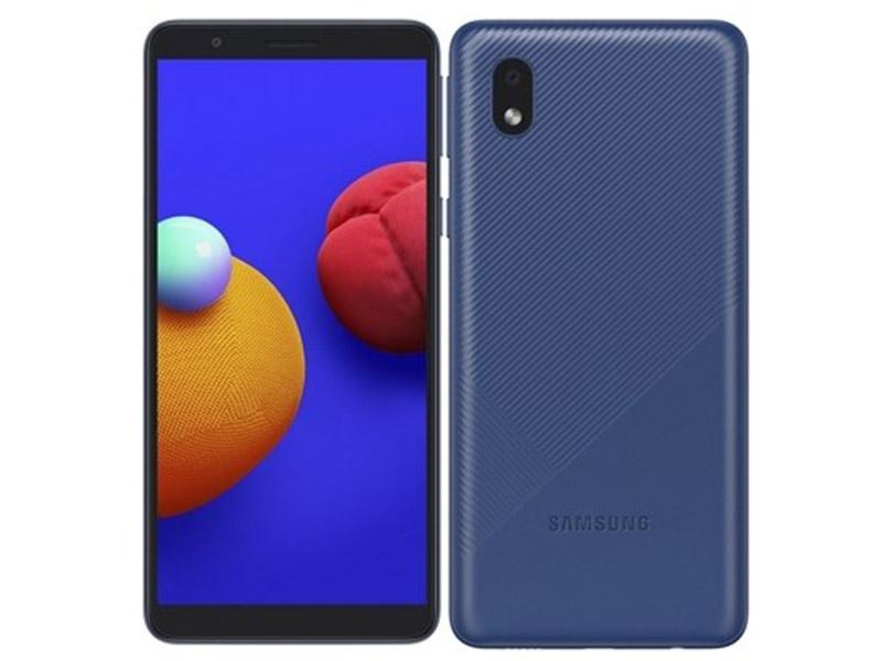 Сотовый телефон Samsung SM-A013F Galaxy A01 Core 1/16Gb Blue Выгодный набор + серт. 200Р!!!