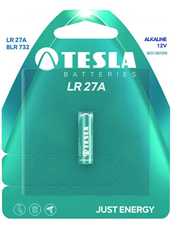 Батарейка LR27A - Tesla (1 штука)