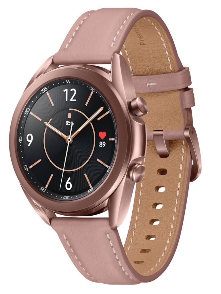 Умные часы Samsung Galaxy Watch 3 41mm Gold SM-R850NZDACIS Выгодный набор + серт. 200Р!!!
