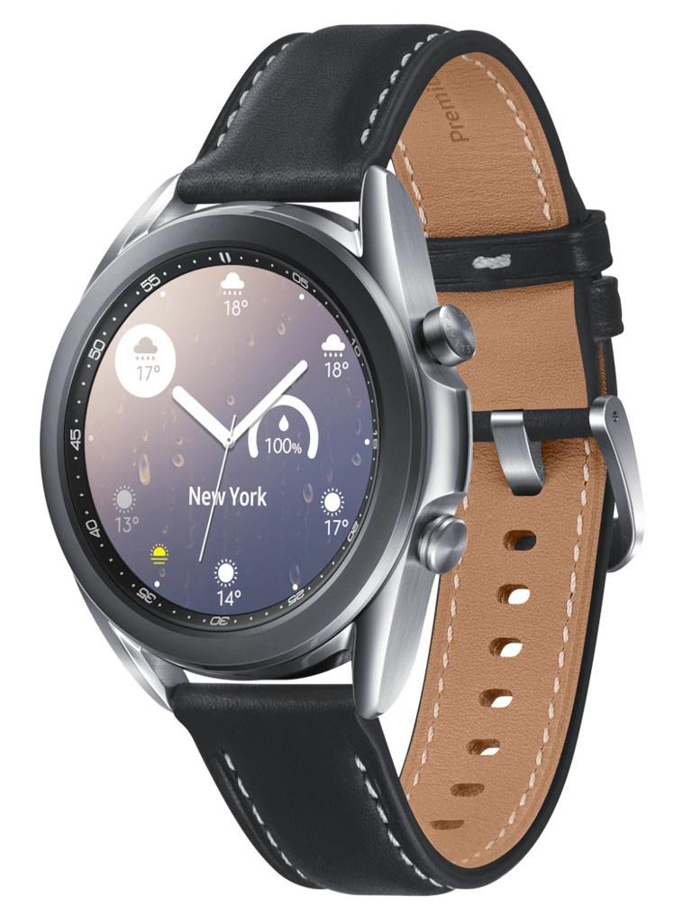Умные часы Samsung Galaxy Watch 3 41mm Silver SM-R850NZSACIS Выгодный набор + серт. 200Р!!!