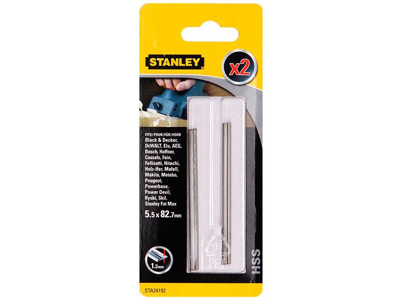 Нож для рубанка Ножи электрорубанков Stanley STA24192-XJ