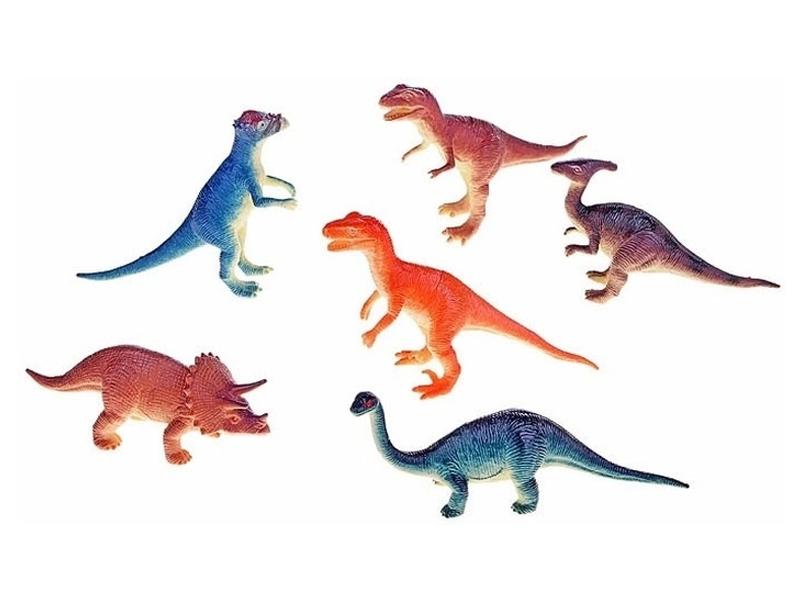 1Toy Динозавры 6шт T50484