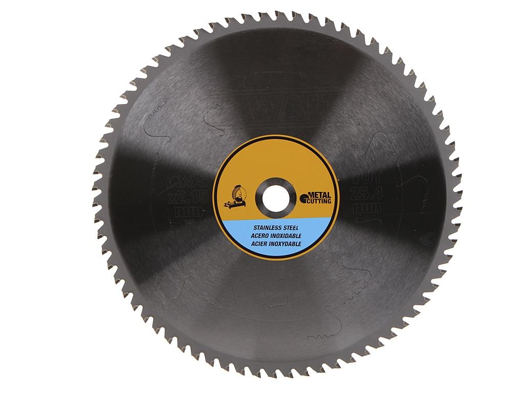 Диск DeWalt пильный по нержавеющей стали 355x25.4mm DT1921-QZ