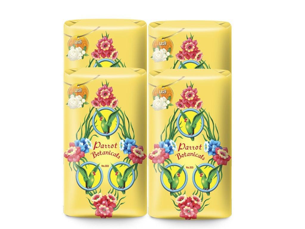 Средство для ухода за телом Parrot Botanicals Ботаническое мыло с ароматом жасмина 4шт по 105g 0890