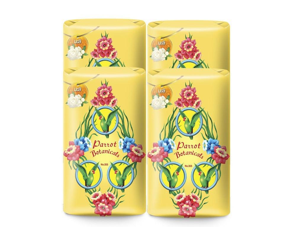 Средство для ухода за телом Parrot Botanicals Ботаническое мыло с ароматом жасмина 4шт по 70g 10135