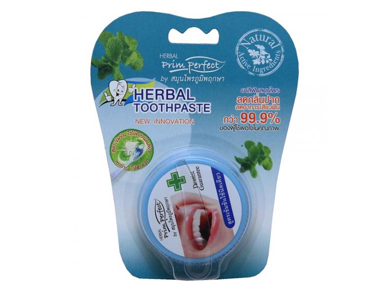 Зубная паста Prim Perfect Herbal Toothpaste 25g 0783