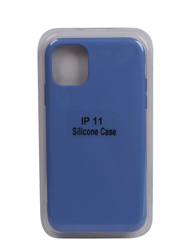 Чехол Innovation для APPLE iPhone 11 Silicone Case Blue 17037